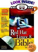 [Red Hat Linux 8 Bible cover]